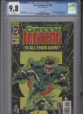 GREEN LANTERN V3 #50 MT 9.8 CGC 1ST APP. OF KYLE RAYNER AS GL BANKS COVER AND AR