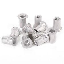 25pcs Aluminum Rivet Nut Rivnut Insert Nutsert M6