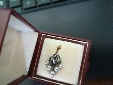 Konplott einzelner Ohrring,Perlen,Zirkon
