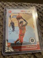 2019-20 NBA Hoops Premium Stock Cam Reddish Base Rookie Card Atlanta Hawks #207