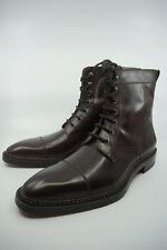 New Ralph Lauren Purple Label Derby Boots Brown EU 44 UK 10 US 11 $1,500
