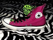 Converse All Star Púrpura/Verde Hi Entrenadores, Rock Chick, Rock 'n' Roll, Rockabilly