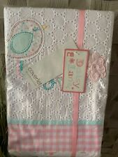 Mothercare Daisy Lane Coverlet For A Cot Or A Cot Bed ** NEW **