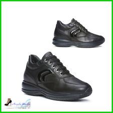 Geox Happy D7356b Sneakers Donna Nero 36 f58b375e3df