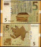 AZERBAIJAN 5 MANAT 2009 P 32 UNC