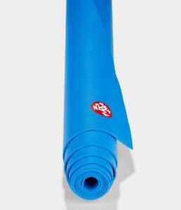 "Manduka PROlite Yoga Pilates Mat 71"" 2.5mm in Be Bold Blue Lifetime Warranty New"
