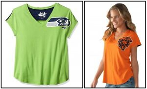 Touch by Alyssa Milano NFL Women's Tee, Chicago Bears, Seattle Seahawks Small