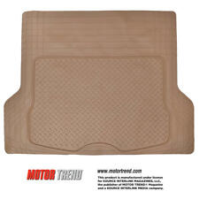 Odor-free Trimmable Rubber Cargo/ Trunk Liner Floor Mat for Car SUV Van - Beige