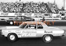 "Butch ""California Flash"" Leal 1965 Plymouth Super Stocker PHOTO!"