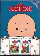 Caillou – PACK 2 DVDs – Vol. 17 y Vol. 18 – Excelente estado