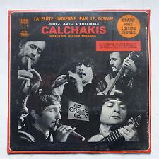 La flute indienne par le disque CALCHAKIS 30 T 118