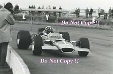 Graham Hill Gold Leaf Team Lotus 49B British Grand Prix 1969 Photograph 3