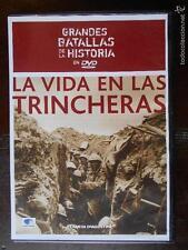 DVD LA VIDA EN LAS TRINCHERAS - GRANDES BATALLAS DE LA HISTORIA - COMO NUEVA