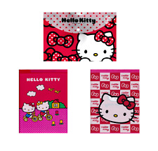 3 x Limited Edition Hello Kitty® A4 Document Wallet Organiser Holder Pocket