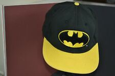 DC Comics Batman Logo Adjustable Baseball Cap - one size