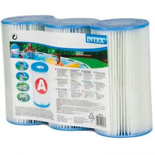 Genuine 3 x Intex Filter Cartridge replacement Size A for INTEX FILTER PUMP