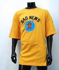 GRIZZLY GRIPTAPE X SUPPLY CO. BAD NEWS YELLOW MENS T SHIRT 3XLARGE