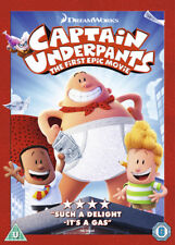 Captain Underpants The First Epic Movie DVD 2017