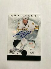 2012-13 Artifacts Jerseys Patch Tags Autographs Black #9 Cam Neely 1 OF 1