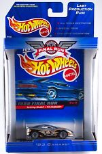 Hot Wheels 1999 Final Run Retired '93 Camaro #8 New In Box