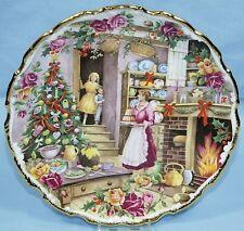ROYAL ALBERT FRED ERRILL BONE CHINA COLLECTOR PLATE CHRISTMAS TREATS