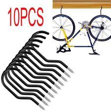 10x Cycling Bike Storage Garage Wall Mount Rack Hanger Bicycle Steel Hook Holder
