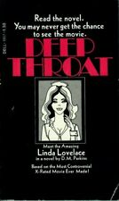 Deep Throat A Novel By D.M. Perkins First Printing April 1973 Soft Cover