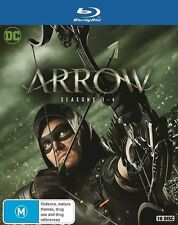 ARROW Complete The complete Season Series 1, 2, 3 & 4 Blu ray Box Set RB New
