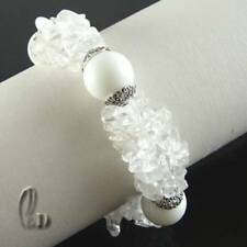 White 18 - 18.99cm Fine Bracelets