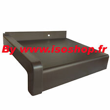 Tablette de fenêtre Argent anodisé , Déport=380 mm|Longueur=1400 mm