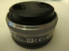 Sony SEL16F28 16mm f/2.8 Wide-Angle E Mount Lens for NEX-3,5,6,7 A6000 camera