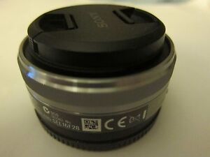 Sony SEL16F28 16mm f/2.8 Wide-Angle E Mount Lens for NEX-5 A3000 A5000 camera