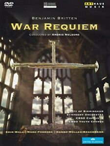 Britten: War Requiem (Erin Wall/ Mark Padmore/ Hanno[Region 2]