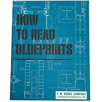 How To Read Blueprints F W Dodge Company Vintage 1950 McGraw Hill Booklet