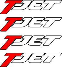 Fiat Grande Punto T-Jet Tjet  Tailgate Decals Stickers Graphics Restoration