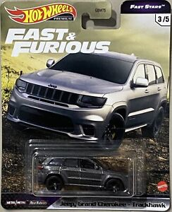 Hot Wheels Fast & Furious Fast Stars Jeep Grand Cherokee Trackshawk F9 Fast SAGA