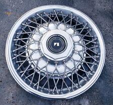 "(1) OEM 1985-1988 AMC American Motors Eagle 15"" Wire Spoke Hubcap Wheel Cover #A"