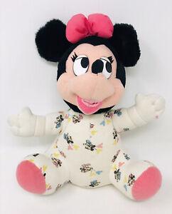 Applause Baby Minnie Mouse Plush Walt Disney Company 1984 Vintage Stuffed Animal