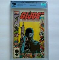 G.I. Joe # 53 CBCS 9.8 ~ WHITE PAGES ~ just like CGC ~ 1986 ARAH ~ Zeck Cover