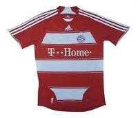 Bayern Munich 2007-09 Authentic Home Shirt (Excellent) S Soccer Jersey