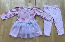 Baby Girls 12 Months Vitamin Kids Pink Crown Princess Tutu Dress Outfit Set