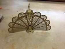 Brass Fan Fireplace Screen