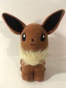 Hasbro Nintendo Pokemon Eevee Plush Toy Vintage 1998