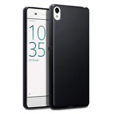 Original Sony Xperia XA Case Slim Hybrid Cover  TPU Gel Tech Bumper Matte Black