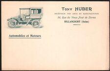 92 - Billancourt. Voiture Tony Huber. #1 vers 1903