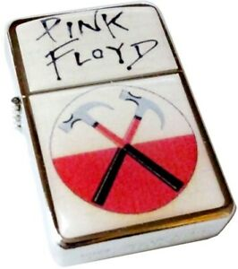 PINK FLOYD The Wall Smoking Cigarette Petrol Lighter Metal Rock Merch