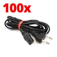 Zub 100 x Kabel Netzkabel / DE Stromkabel für Dreamcast / PS1 / PS2 / PS3 / PS4
