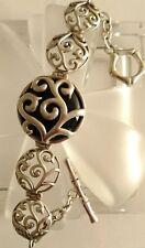 BARSE Sterling Silver Scroll Bracelet