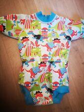 Happy Nappy Splash About Dinosaur Wetsuit Size Large Summer swim suit