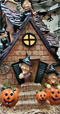 Joelson Industries Light Up Halloween Witch Haunted Mansion Boutique Collection